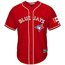 Toronto Blue Jays 2016 Canada Day Red Replica Jersey For Men