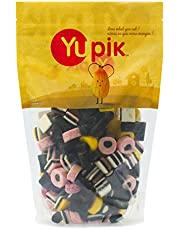 Yupik Candy Assorted Licorice with Natural Flavors & Colors, 1kg