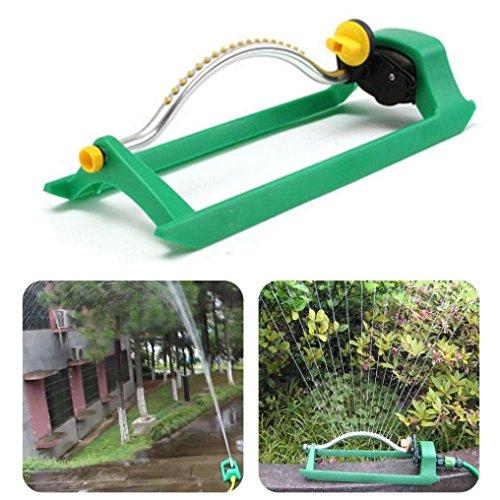 SUJING Oscillating Lawn Sprinkler, Garden Sprinkler Lawn Spr
