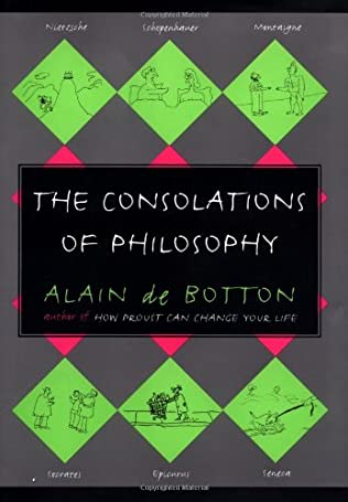 book cover of The Consolations of Philosophy