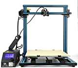 3D Printer Creality CR-10S 500 Blue 3D Printer 500×500×500mm Large Building Volume 0.05mm Cura PLA Free Filament & Tool Box