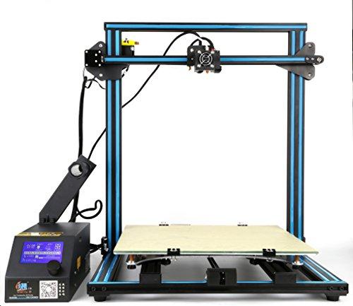 3D Printer Creality CR 10 Blue 3D Printer 500×500×500mm Large Building Volume 0.05mm Cura PLA Free Filament & Tool Box
