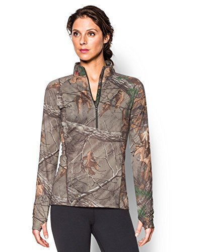 Under Armour Womens UA Tech Camo 1/2 Zip 2XL (US 18) REALTREE AP-XTRA