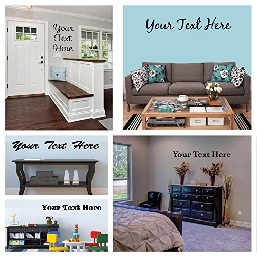 Lettering Wall Decal Sticker (4