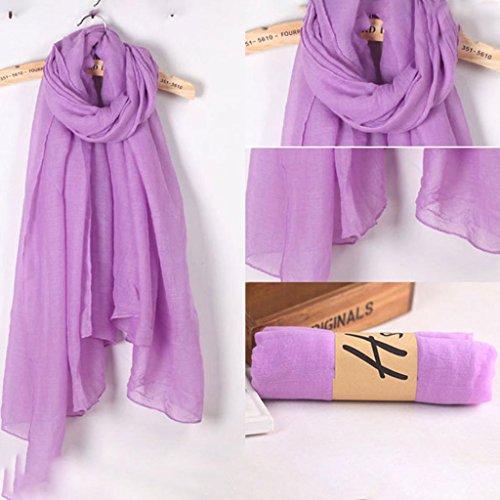 Pañuelos Mujeres Algodón Púrpura Luz Largo Mantón Bufanda Grande Del Lino Xuniu Amarillo Sólido Elegante Abrigo Hijab Color Las Largos De La Vendimia dP1qxRnZg