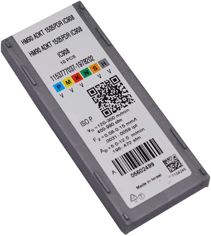 10pcs HM90 ADKT1505PDR IC908 CNC Milling Carbird Insertsing