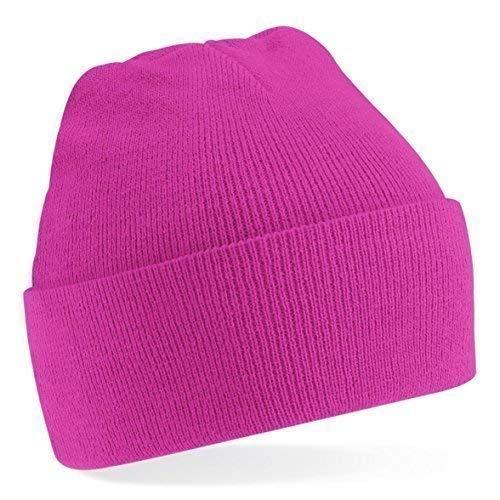 de gorro Unisex Amarillo lana talla Shirtinstyle mucho moda de de Gorro Talla invierno Colores Fucsia Tejer gorro única 6fRPxEP