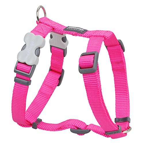 Red Dingo Classic Dog Harness, Small, Hotpink