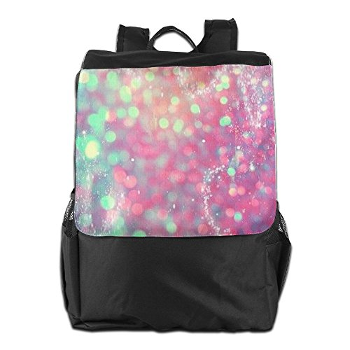 Glitter And Women Backpack Blinbling Shoulder Travel School Dayback World Adjustable Personalized Outdoors Camping For Strap Men HSVCUY Storage H1xqU0awW