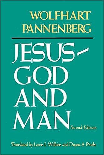 Jesus: God and Man