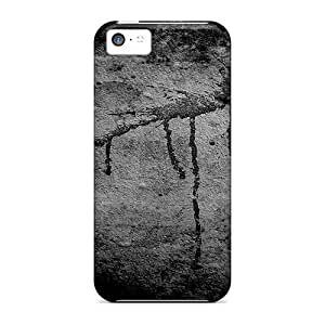 Hot Style Gdr36510qqGO Protective Cases Covers For Iphone5c(blood On A Wall)