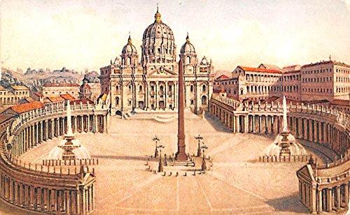 (Piazza S Pietro Roma Italy Postcard)