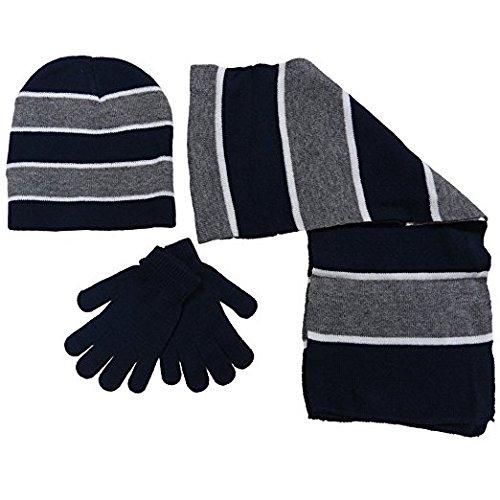 Price comparison product image Boy's 3 Piece Knit Hat