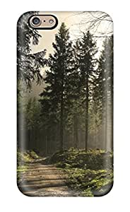 Excellent Iphone 6 plus Case Tpu Cover Back Skin Protector Pine Forest