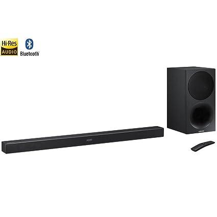 6000dfb60af Amazon.com  Samsung HW-M450 ZA 320W 2.1ch Soundbar w  Wireless Subwoofer -  (Renewed)  Electronics
