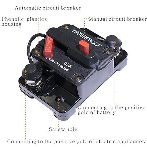 60 Amp Circuit Breaker Manual Power Fuse Reset by iztor (Image #5)