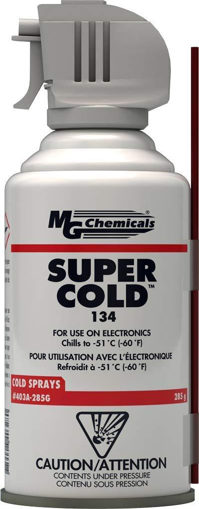 MG Chemicals 403A 134A Super Cold Spray, 285g (10 oz) Aerosol Can: Freezing Spray: Industrial & Scientific