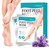 assoul Foot Peel Mask, Exfoliating Calluses and Dead Skin Remover, Baby Your Feet Naturally (1Pair)