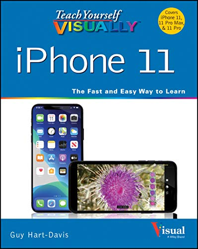 Teach Yourself VISUALLY iPhone 11, 11Pro, and 11