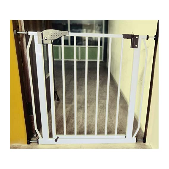 Kiddale Safety Gate Suitable For Passage Between 75 Cm(29.5 Inch) To 82Cm(32 Inch) - White