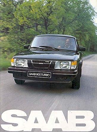 1982 Saab 900 & Turbo Sales Brochure