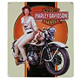 Harley-Davidson® Dreaming Embossed Tin Sign