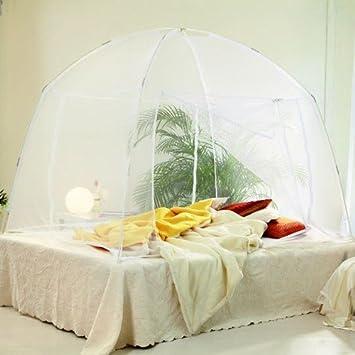 Goods /& Gadgets Automatik Moskitozelt Mosquitonetz Mobiler Insektenschutz mit 200 x 200 cm XXL