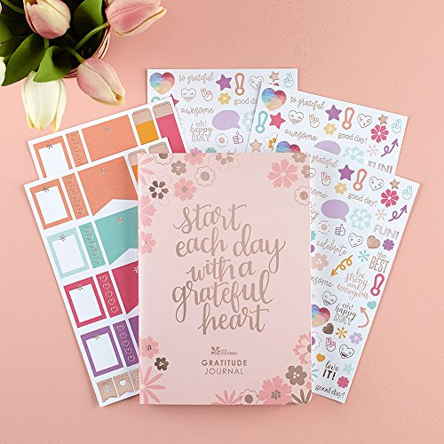 Erin Condren Gratitude Bundle with Stickers (Includes Petite Planner w/Illustrative and Functional Stickers