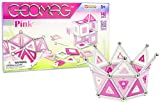 Geomag 142-Piece Construction Set with Assorted Pink Panels – Mentally Stimulating for Children and Adults – Safe and Construction – For Ages 3 and Up