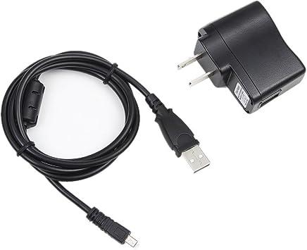 SONY CYBERSHOT DSC-W800//DSC-W810//Cámara USB Cable Cargador De Batería