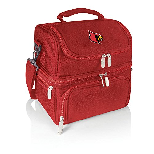 - NCAA Louisville Cardinals Pranzo Insulated Lunch Tote, Red