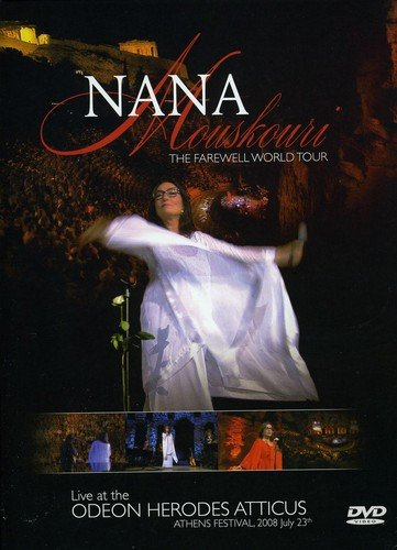 DVD : Nana Mouskouri - Farewell World Tour 2008 (France - Import, NTSC Region 1)