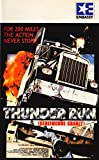 Thunder Run VHS Tape