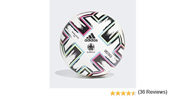 adidas UNIFO LGE Balón de Fútbol, Mens, White/Black/Signal Green ...