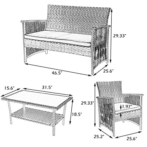 Best Metal Patio Furniture Cushion August 2019 ★ Top