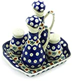 Polish Pottery Seasoning Set (Mosquito Theme) + Certificate of Authenticity