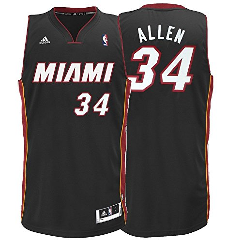NBA adidas Ray Allen Miami Heat Revolution 30 Performance Swingman Jersey - Black (XX-Large)