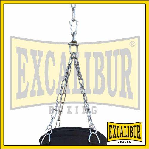 Drehwirbel Und Stabiler Aufh/ängung Hochwertigen Nylon 80cm Handgefertigt Aus Extrem Robusten Verschiedene Sets Jugend Boxsack Excalibur Allround Inklusive Kettenaufh/ängung