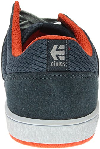 Etnies, Kids Marana, Zapatillas de Skateboard, Unisex, Gris (Black/Dark Grey/Red565), 33 EU