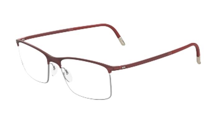 Eyeglasses Silhouette Urban Fusion Full Rim 2904 6052 red matte 54