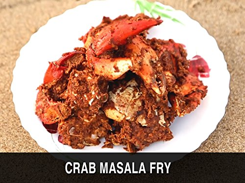 Crab Masala Fry Ruchkar Mejwani Karwar (Fresh Crab Recipe)
