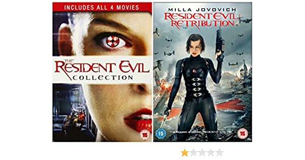 Amazon Com Resident Evil Movies Complete Dvd Collection