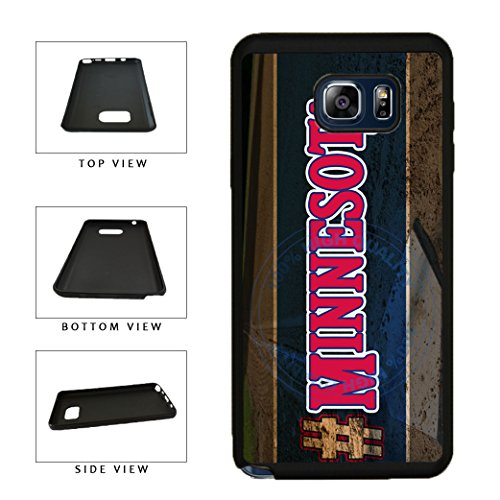 Minnesota Note Twins - BleuReign(TM) Hashtag Minnesota #Minnesota Baseball Team TPU Rubber Silicone Phone Case Back Cover for Samsung Galaxy Note 8