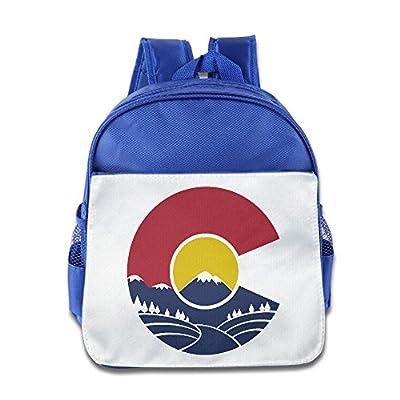 Waterproof Cool Kid's Bags Rocky Mountain Colorado School Bag.