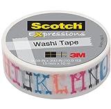 Scotch Expressions Washi Tape, 59 x 393