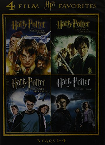 Harry Potter Years 1-4: Sorcerer's Stone / Chamber of Secrets / Prisoner...