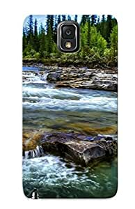 Podiumjiwrp IlBEWFo5868peTPq Case Cover Galaxy Note 3 Protective Case Forest Stream ( Best Gift For Friends) by supermalls