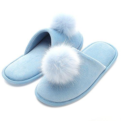 FLY Chaussons pour femme Bleu HAWK xwxqUa5r8