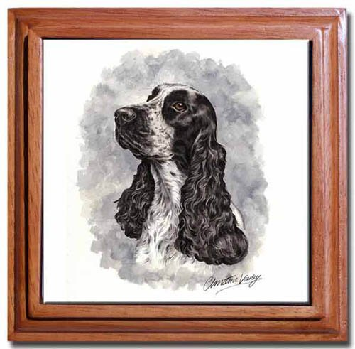 English Cocker Spaniel Tile Trivet