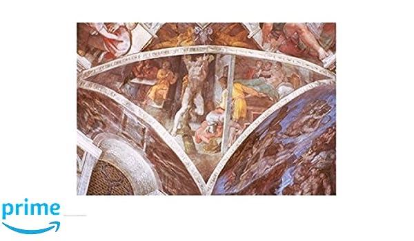 Amazon Com Posterazzi Sistine Chapel Ceiling Haman Poster
